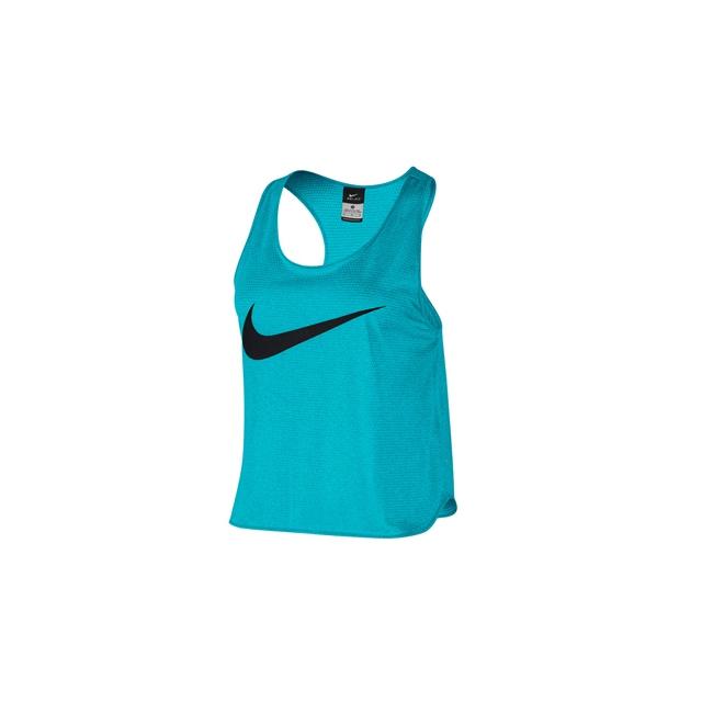 Nike - Nike Free Swoosh Cool Tank - Women's-Bluegill-S
