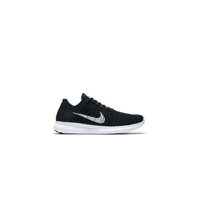 Nike - Free RN Flyknit Running Shoe - Women's-Black-5