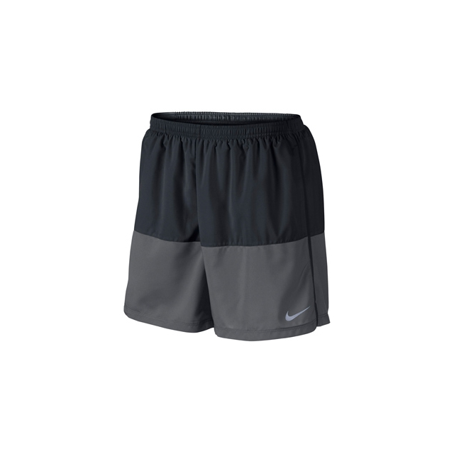 "Nike - 5"" Distance Short - Men's-Charcoal Heather-L"