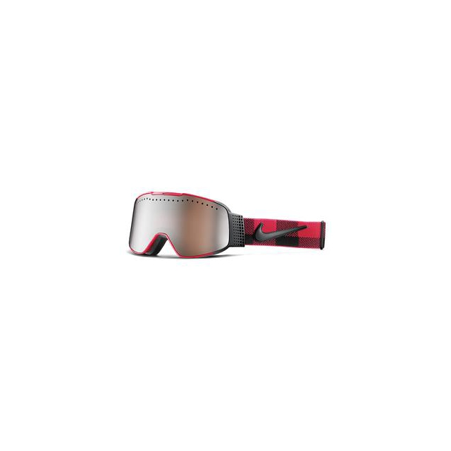 Nike - Fade Ski Goggles Adults', Gym Red/Black Checker