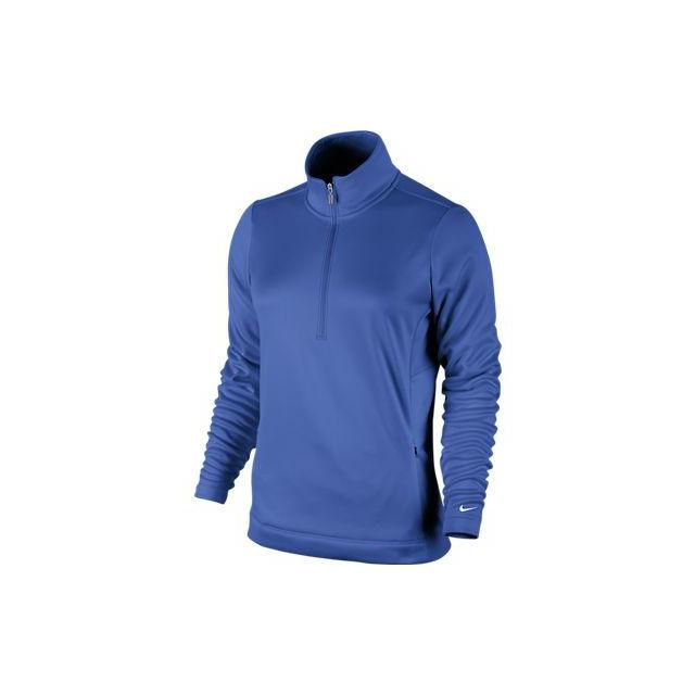 Nike - Nike Womens LSU Thermal Half-Zip