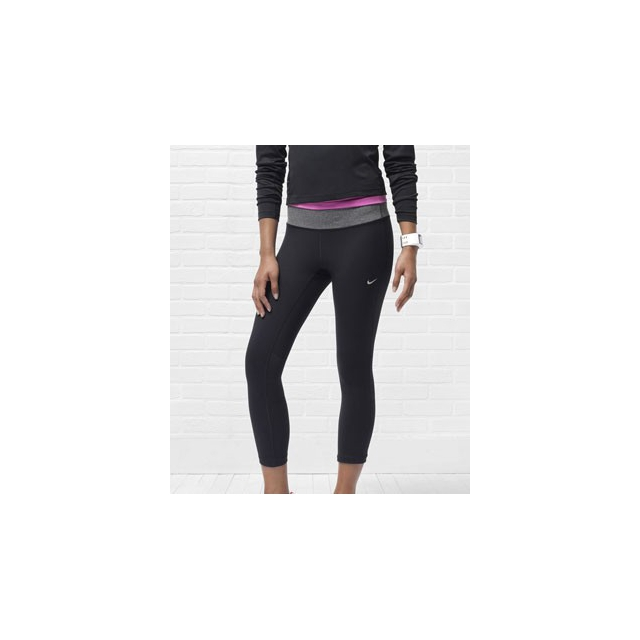 Nike - Epic Run Cropped Running Tights - Women's-L