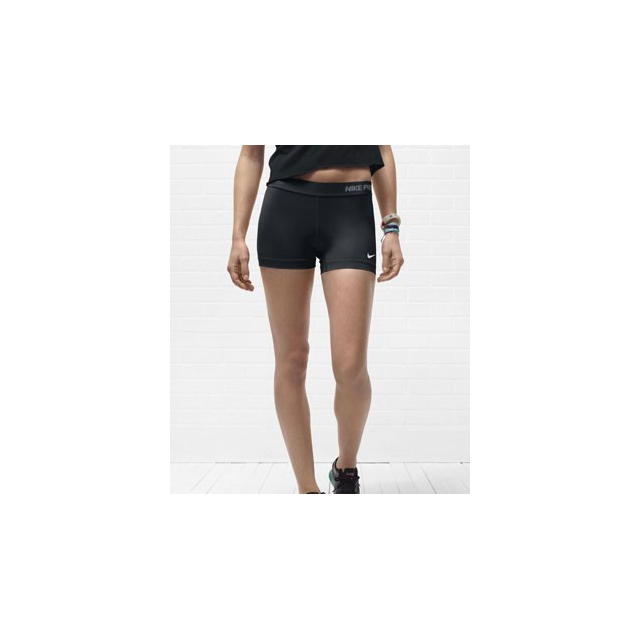 Nike - Pro Essential 2.5 Inch Compression Shorts - Women's-L