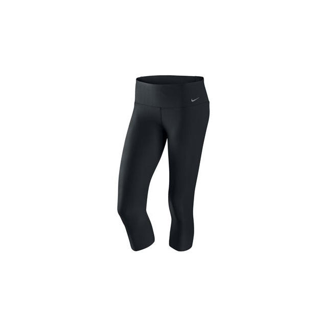 Nike - Legend Tight Fit Capri - Women's-Black/White-L