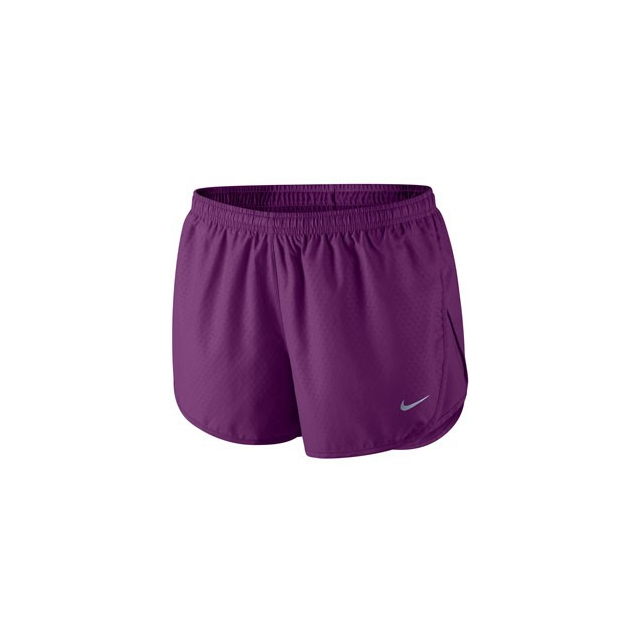 Nike - Tempo Emboss Shorts - Women's-Purple-L