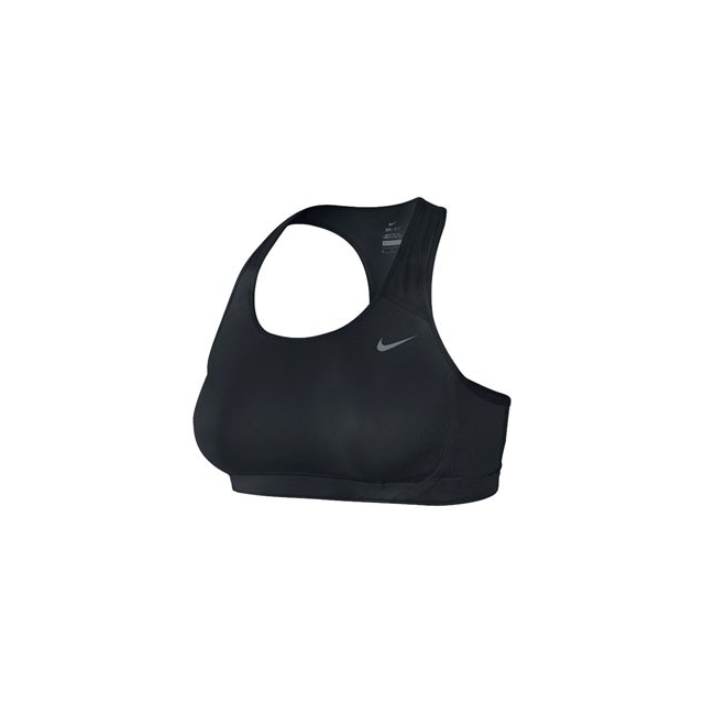 Nike - Victory Shape Bra - Women's-Black/Black/Cool Grey-M