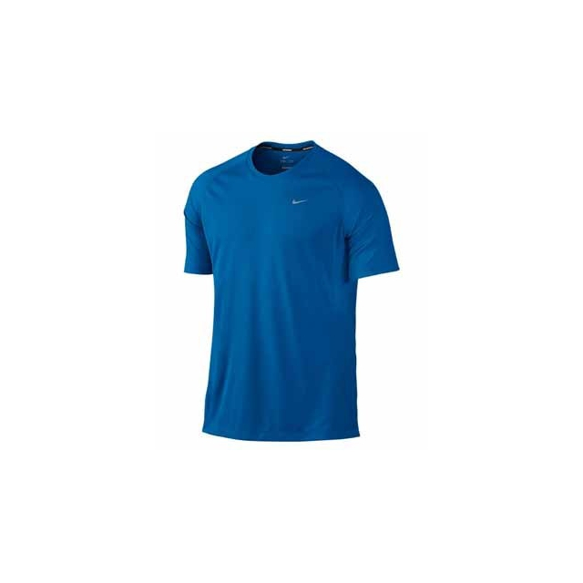Nike - Nike Dri-Fit UV Miler Short Sleeve Shirt - Men's-S