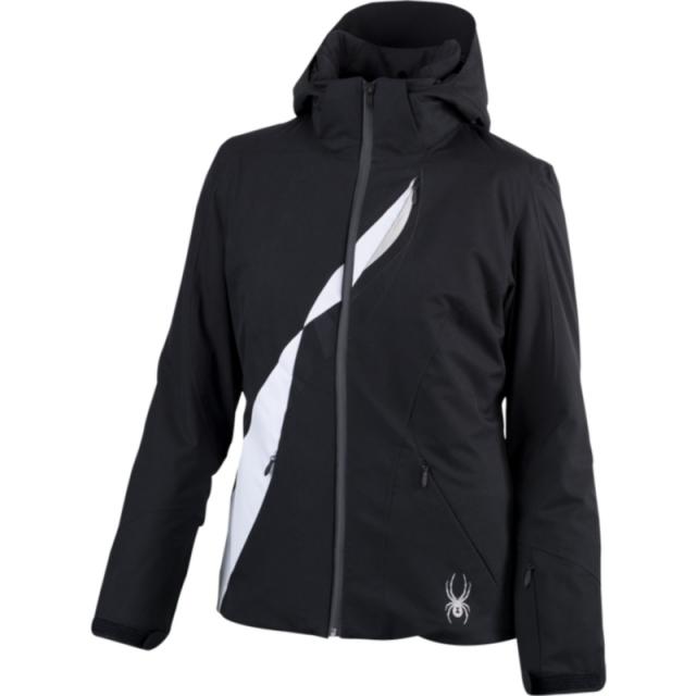 Spyder - Womens Volt Jacket - Closeout Black / White 10