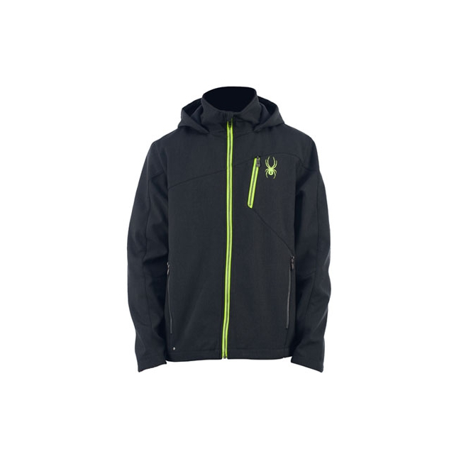 Spyder - Patsch Novelty Hoody Soft Shell Jacket Men's