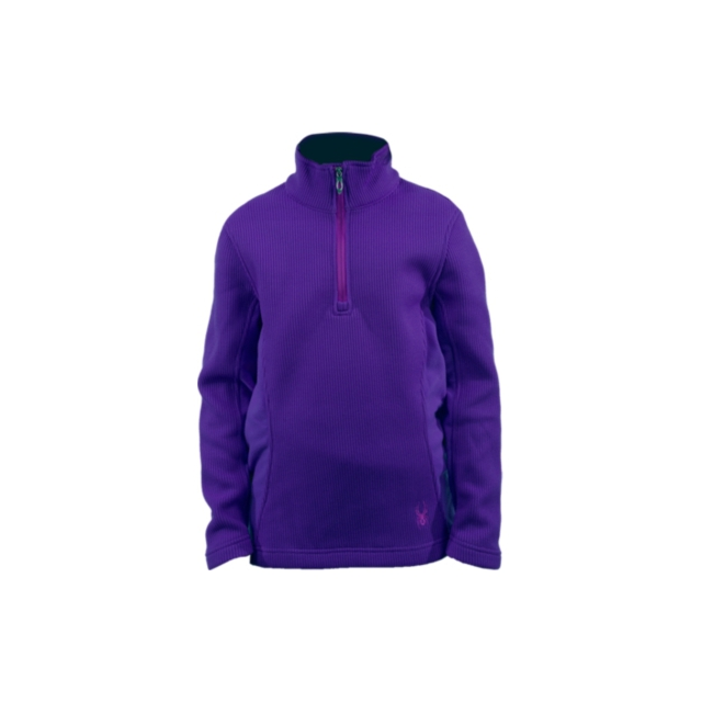 Spyder - Spyder Girl's Valor Half Zip Mid WT Core Sweater