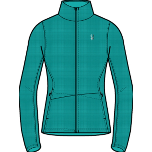Spyder - Womens Endure Full Zip - Closeout Robins Egg X Small