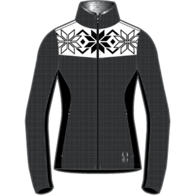 Spyder - Womens Criss - Closeout Black/White Medium