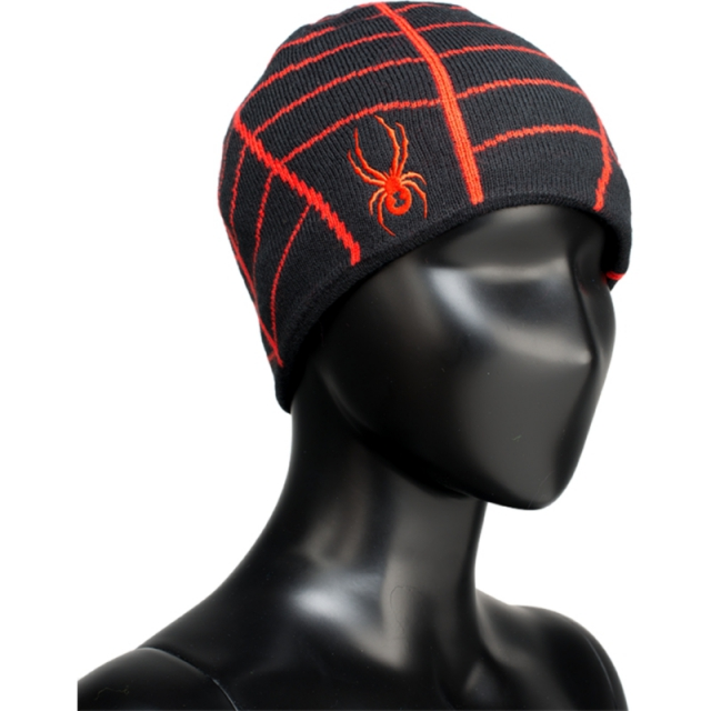 Spyder - Mini Web - Sale Black/Volcano One Size