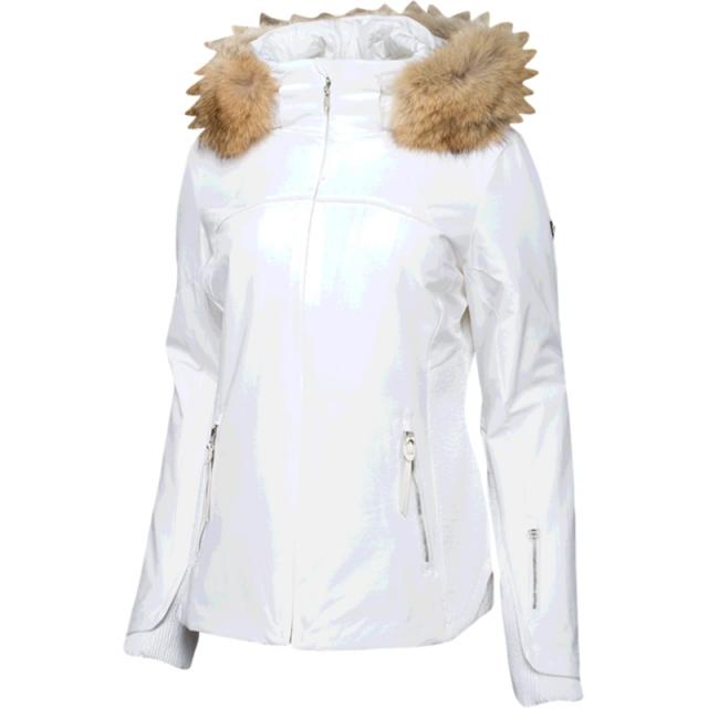 Spyder - Womens Posh Real Fur - Sale White 08