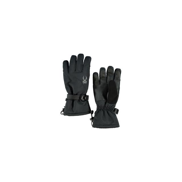 Spyder - Essential Ski Gloves - Women's - Black/Silver In Size