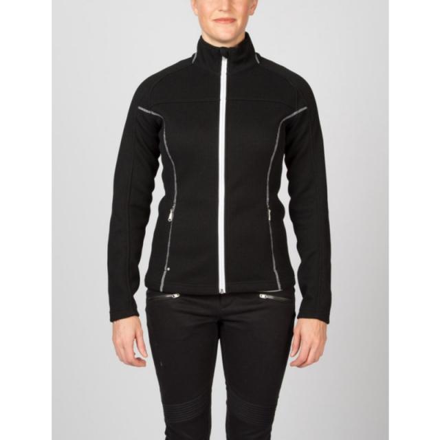 Spyder - Womens Virtue Full Zip Sweater - Sale Black/White Medium
