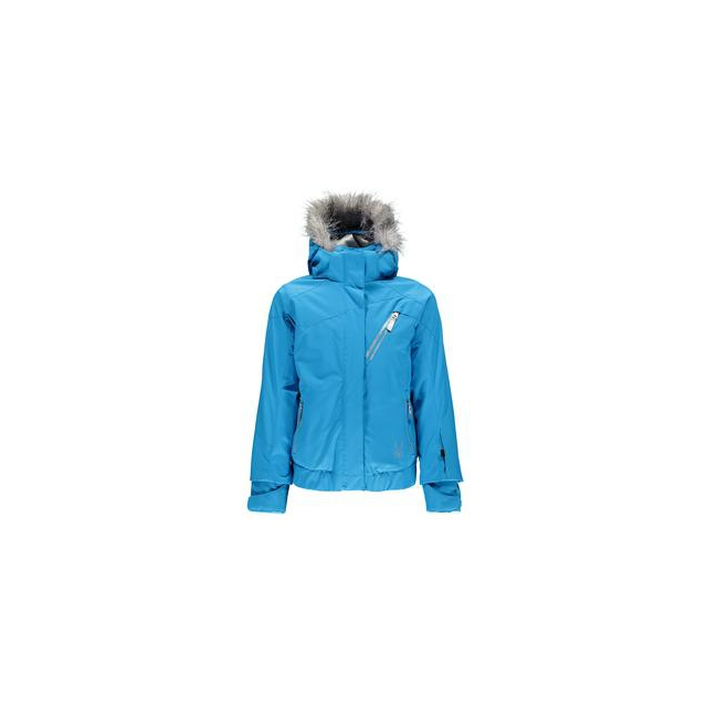Spyder - Lola Insulated Ski Jacket Girls', Riviera/Riviera/Silver, 14