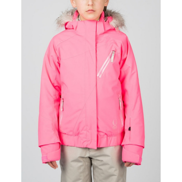 Spyder - Girls Lola Jacket - Closeout Bryte Bubblegum/Bryte Bubblegu 12
