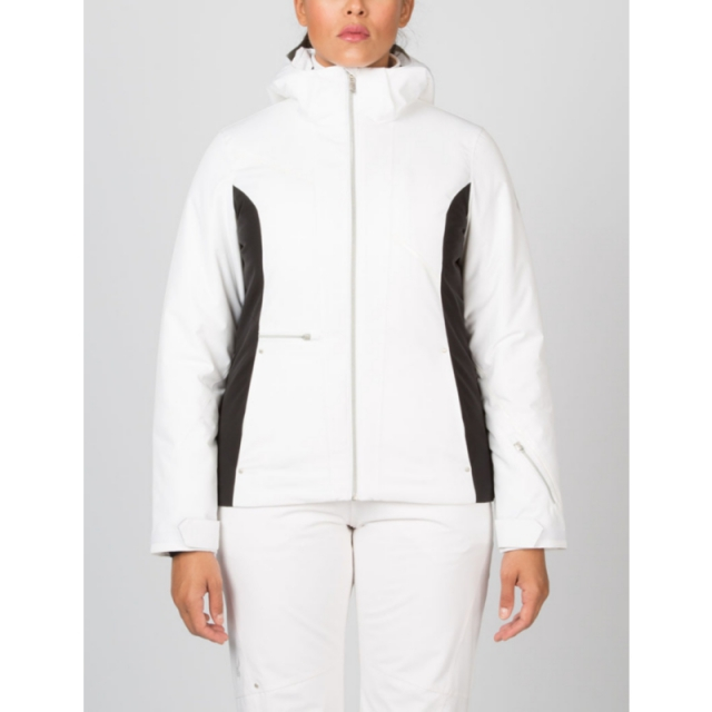 Spyder - Womens Prevail Jacket - Closeout White/Black/White 08