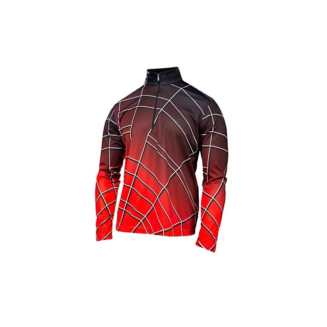 Spyder - Gradient Web Dry WEB T Neck Mens Mid Layer