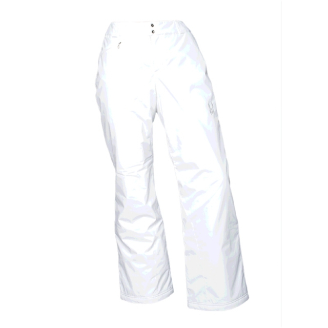 Spyder - Womens Winner Athletic Fit Pant - Closeout White 06-SHT