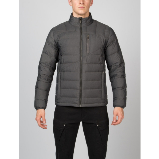 Spyder - Mens Dolomite Novelty Full Zip - Closeout Polar Melange/Cirrus