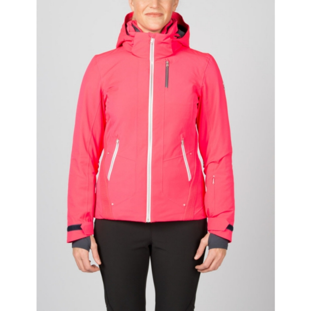 Spyder - Womens Pandora Jacket - Closeout Bryte Pink/White/Depth 08