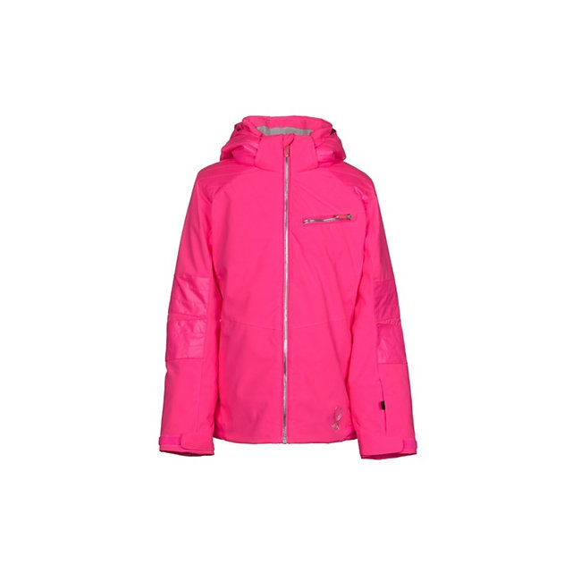 Spyder - Radiant Insulated Ski Jacket Girls', Bryte Bubblegum, 14