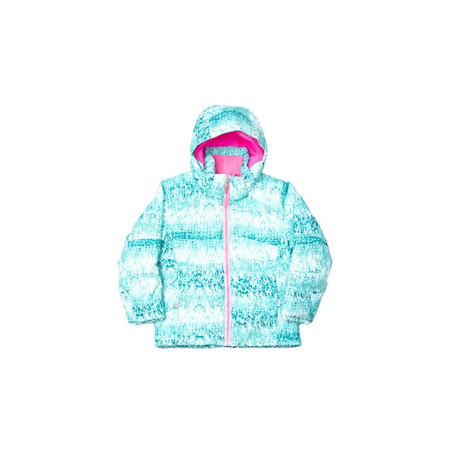 Spyder - Bitsy Glam Insulated Ski Jacket Little Girls', Shatter Multiloop/Bryte Bubblegum, 2