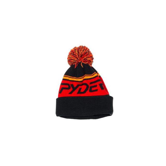 Spyder - Icebox Hat Boys', Black/White/Volcano,
