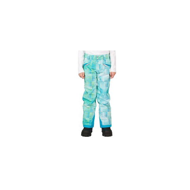Spyder - Vixen Athletic Fit Insulated Ski Pant Girls', Riviera Diamond Print, 16