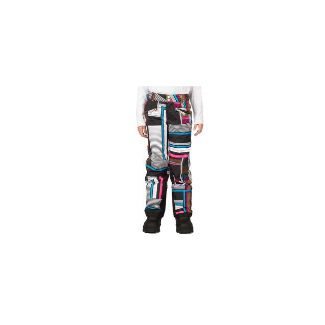 Spyder - Vixen Athletic Fit Insulated Ski Pant Girls', Riviera Check Plaid Print, 18
