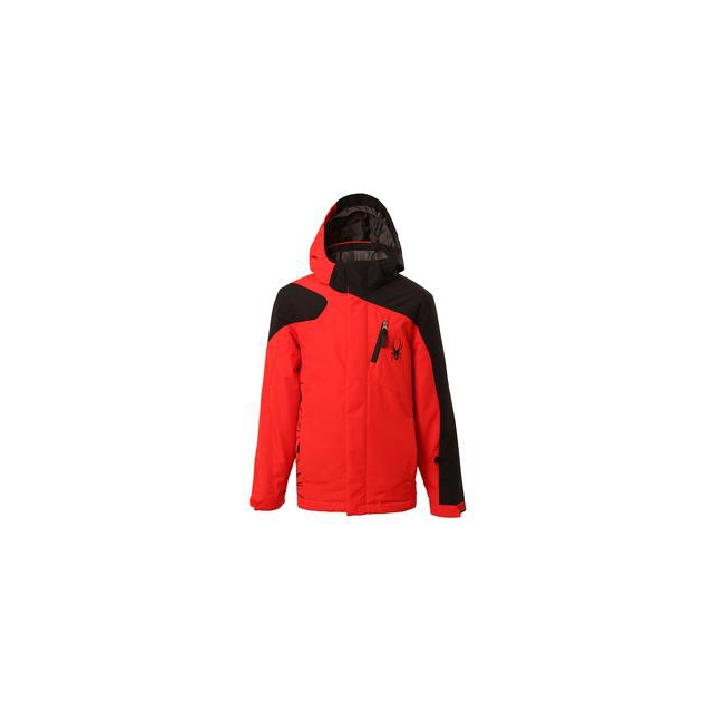Spyder - Guard Insulated Ski Jacket Boys', Cirrus/Black, 12
