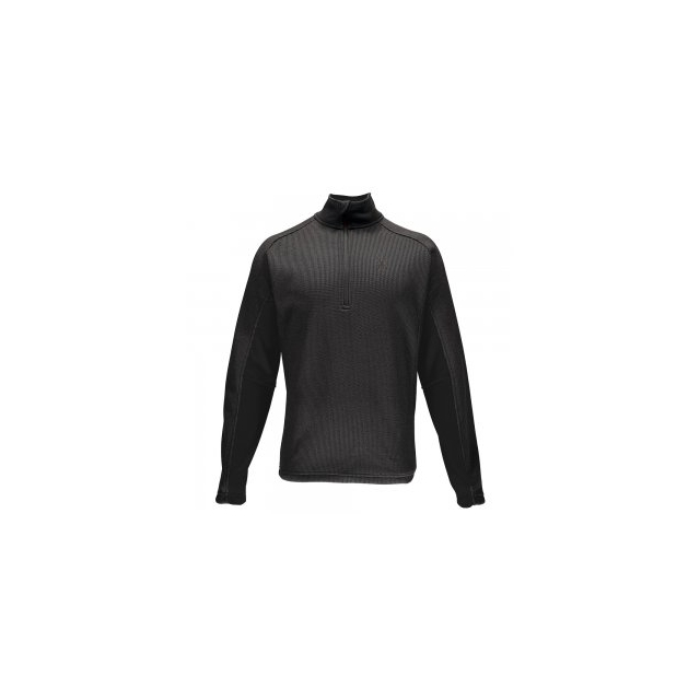 Spyder - Outbound Half-Zip Midweight Core Sweater Men's, Black/Black/Black, 3XL