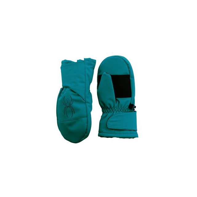 Spyder - Mini Cubby Mitten Little Boys', Black/Black, L