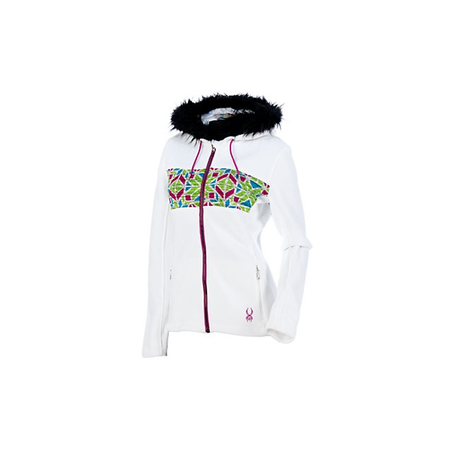 Spyder - Core Soiree Faux Fur Hood Womens Sweater (Previous Season)
