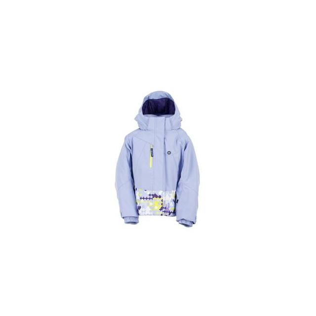 Spyder - Bitsy Mynx Ski Jacket Little Girls', Amethyst/Dreamy/Sharp Lime, 4