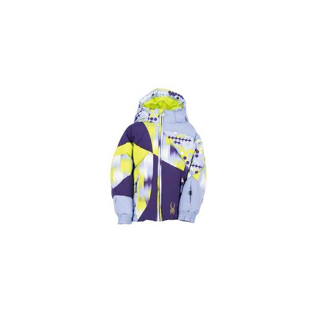 Spyder - Bitsy Duffy Puff Ski Jacket Little Girls', Amethyst/Regal/Dreamy, 2