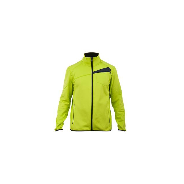 Spyder - Bandit Full-Zip Fleece Jacket Men's, Sharp Lime/Slate, L