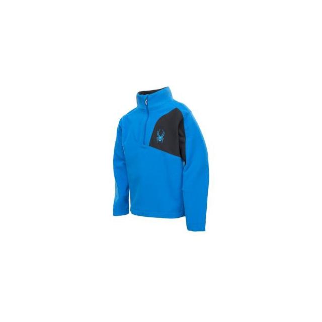 Spyder - Speed Fleece Top Little Boys', Stratos Blue/Black, 2