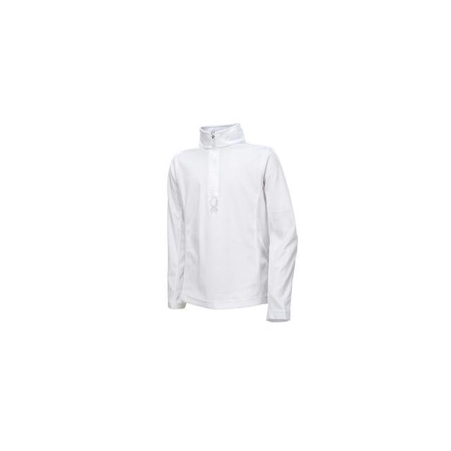 Spyder - Chloe Velour Fleece Top Girls', White, XL