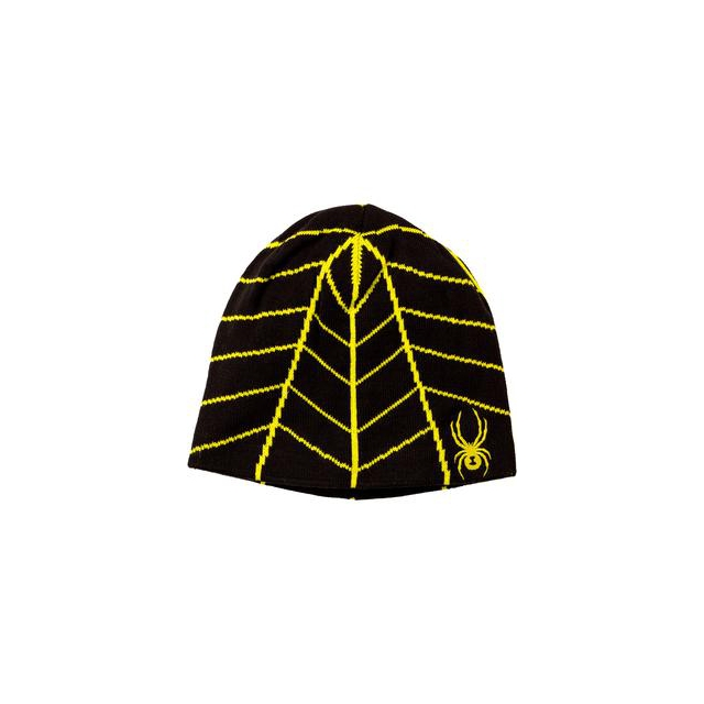 Spyder - Web Hat Boys', Black/Acid,