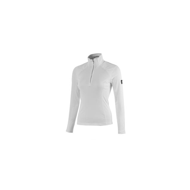Spyder - Lapis Therma Stretch Mid-Layer Top Women's, White, 16