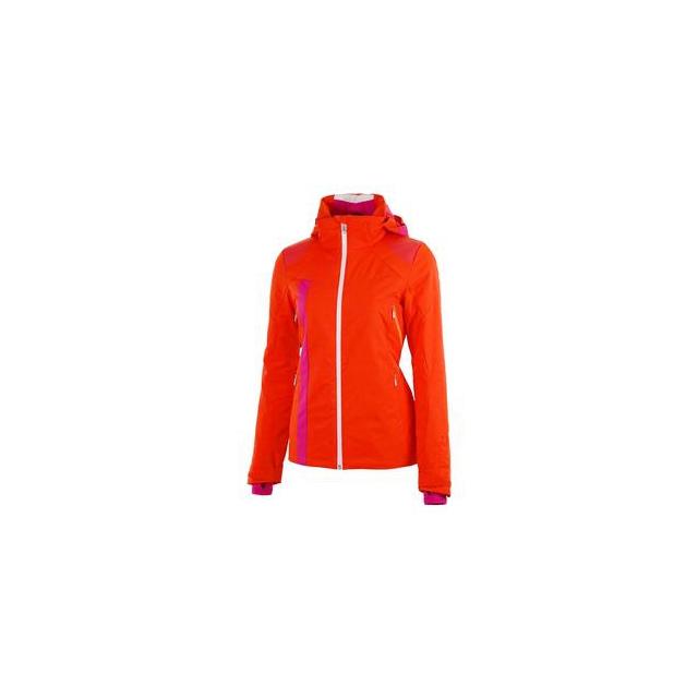 Spyder - Temerity Insulated Ski Jacket Women's, Sizzle/Girlfriend/Bryte Orange, 12