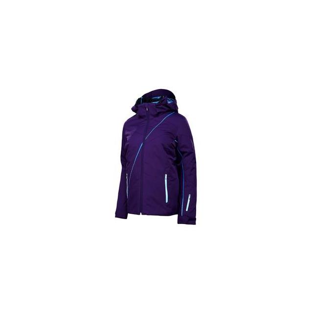 Spyder - Menage A Trois 3-in-1 Ski Jacket Women's, Regal/Girlfriend Print, 2
