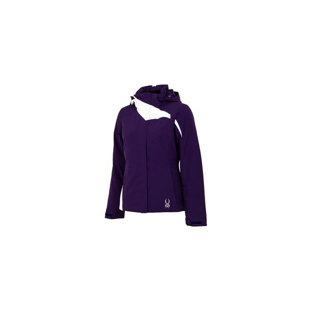 Spyder - Amp Insulated Ski Jacket Women's, Regal/White, 8