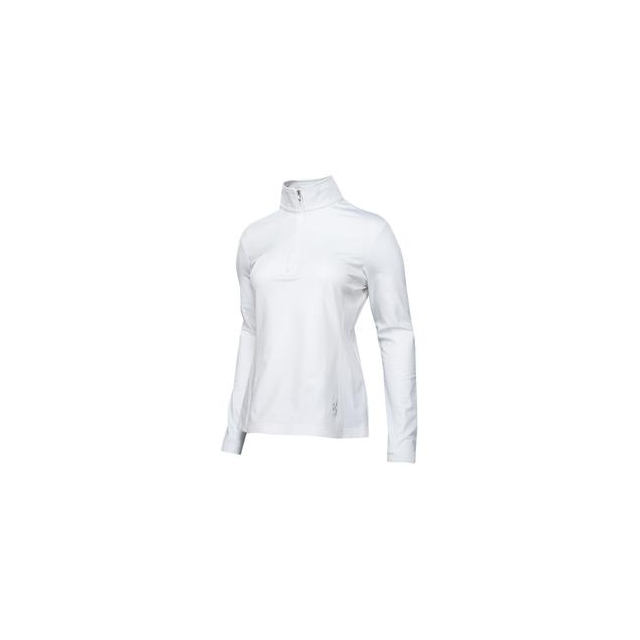Spyder - Flicker Therma Stretch Mid-Layer Top Women's, White/White, 12
