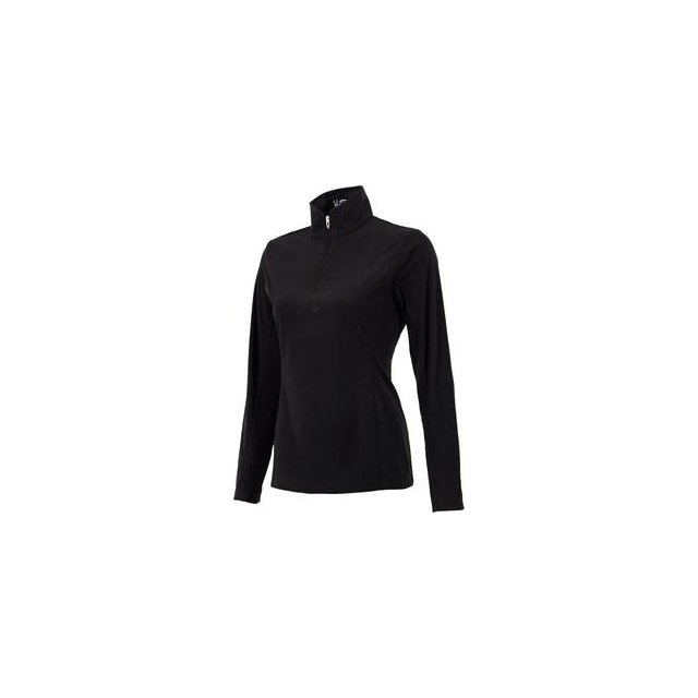 Spyder - Shimmer Bug Velour Fleece Mid-Layer Top Women's, Black, 16
