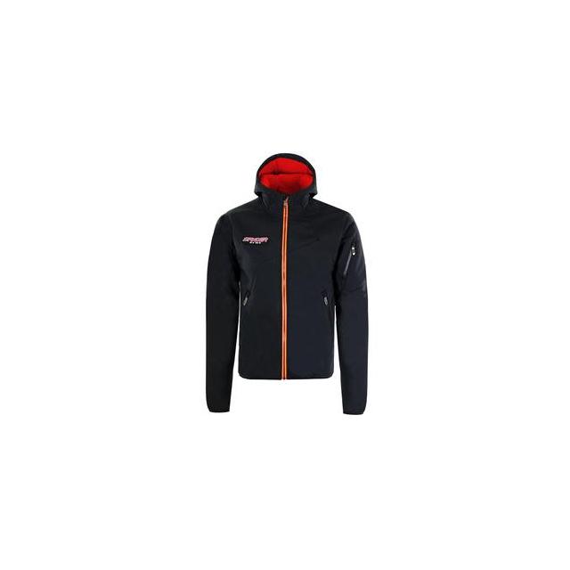 Spyder - Mercury GT Softshell Jacket Men's, Black/Volcano/Bryte Orange, M