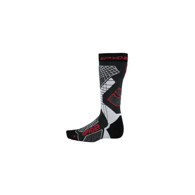Spyder - Zenith Ski Sock Men's, Polar/Black/White, XL